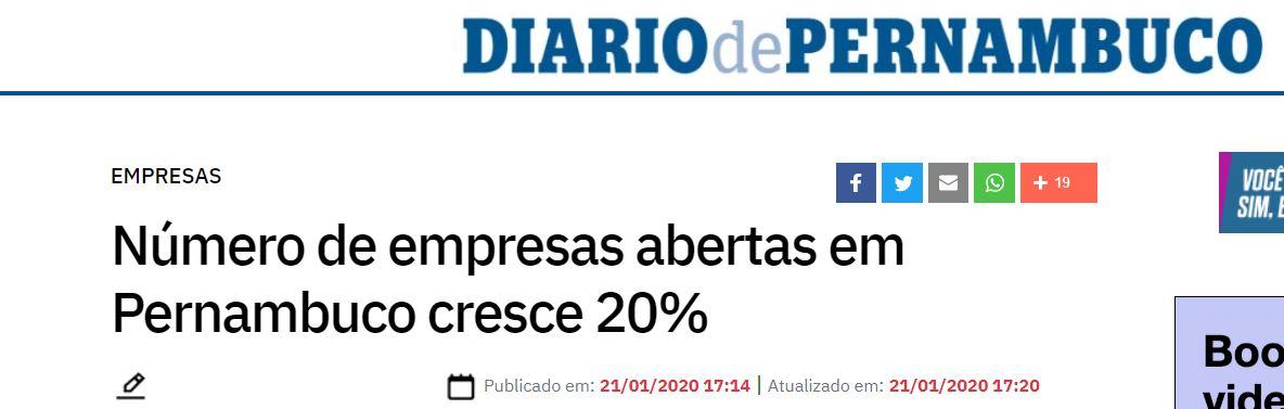 Diario De Pernambuco - contabilidade em João Pessoa - Paraíba | Eite Contabilidade